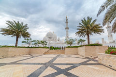 Sheikh Zayed Grand Mosque in Abu Dhabi, UAE Stockfotos