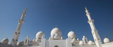 Sheikh Zayed Grand Mosque Abu Dhabi. UAE Stock Photo