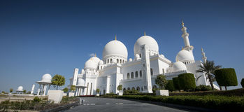 Sheikh Zayed Grand Mosque Abu Dhabi Stock Photography