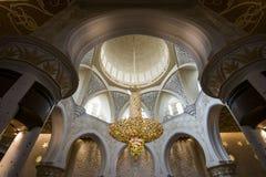 Sheikh Zayed Grand Mosque Abu Dhabi. UAE Royalty Free Stock Images