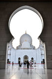 The Sheikh Zayed Grand Mosque royalty free stock photo