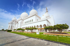 Sheikh Zayed Grand Mosque in Abu Dhabi, UAE Royalty Free Stock Images