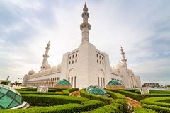 Sheikh Zayed Grand Mosque in Abu Dhabi, UAE Stock Images