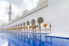 Sheikh Zayed Grand Mosque in Abu Dhabi, UAE Stock Photography
