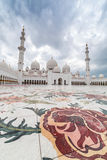 Sheikh Zayed Grand Mosque in Abu Dhabi, UAE Stock Image