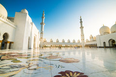 Sheikh Zayed Grand Mosque Stock Image