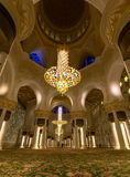 Sheikh Zayed Grand Mosque, Abu Dhabi Royalty Free Stock Photos