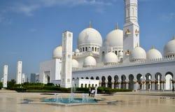 Sheikh Zayed Grand Mosque, Abu Dhabi, UAE Stock Image