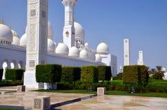Sheikh Zayed Grand Mosque, Abu Dhabi, UAE Stock Images