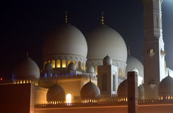 Sheikh Zayed Grand Mosque, Abu Dhabi, UAE Stock Photo
