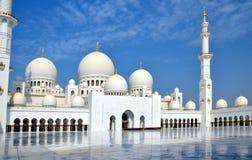 Sheikh Zayed Grand Mosque, Abu Dhabi, UAE Royalty Free Stock Photography