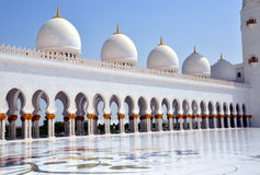 Sheikh Zayed Grand Mosque, Abu Dhabi, UAE Stock Photography