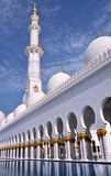Sheikh Zayed Grand Mosque, Abu Dhabi, UAE Royalty Free Stock Photography