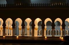 Sheikh Zayed Grand Mosque, Abu Dhabi, UAE Royalty Free Stock Photos