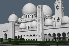 Sheikh Zayed Grand Mosque, Abu Dhabi Royalty Free Stock Photography