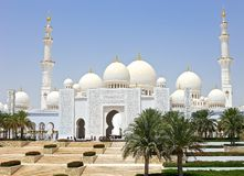 Sheikh Zayed Grand Mosque Royalty Free Stock Photos