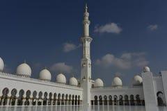Sheikh Zayed Grand Mosque, Abu Dhabi, United Arab Emirates Stock Photos