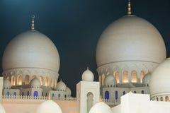 Sheikh Zayed Grand mosque in Abu Dhabi, United Arab Emirates Stock Photo