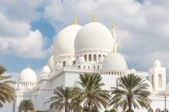 Sheikh Zayed Grand Mosque, Abu Dhabi, Vereinigte Arabische Emirate Lizenzfreie Stockbilder