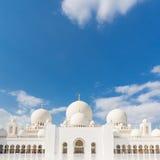 Sheikh Zayed Grand Mosque, Abu Dhabi, Vereinigte Arabische Emirate Stockfotografie