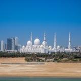Sheikh Zayed Grand Mosque in Adu Dhabi Stockbilder