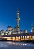 Sheikh Zayed Grand Mosque in Adu Dhabi Royalty Free Stock Image