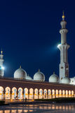 Sheikh Zayed Grand Mosque in Adu Dhabi Royalty Free Stock Photography