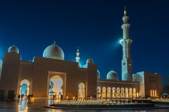 Sheikh Zayed Grand Mosque in Adu Dhabi Stock Images