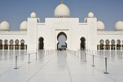 Sheikh Zayed Grand Mosque Royalty Free Stock Images