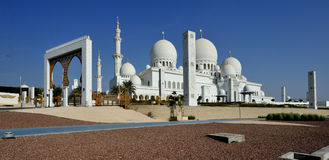 Landmark of Abu Dhabi Royalty Free Stock Image