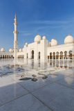 Sheikh Zayed Grand Mosque at dusk (Abu-Dhabi, UAE) Stock Photo