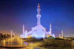 Sheikh Zayed Grand Mosque Royalty Free Stock Image