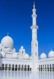 Sheikh Zayed Grand Mosque em Abu Dhabi Fotografia de Stock
