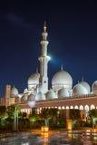 Sheikh Zayed Grand Mosque en Adu Dhabi Foto de archivo libre de regalías