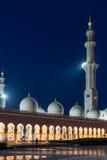 Sheikh Zayed Grand Mosque en Adu Dhabi Fotografía de archivo libre de regalías