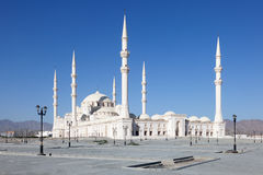 Sheikh Zayed Grand Mosque in Fujairah Royalty-vrije Stock Afbeeldingen