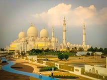 Free Sheikh Zayed Grand Mosque In Abu Dhabi, Ramadan Mubarak 2021 Royalty Free Stock Images - 215494749