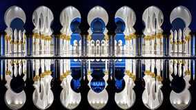 Sheikh Zayed Grand Mosque. symbol   of religion stock photos