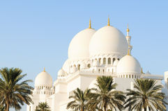 Sheikh Zayed Grand Mosque. Outside the Sheikh Zayed Grand Mosque in Abu Dhabi, UAE Stock Photography