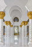Sheikh Zayed Grand Mosque. Sheikh Zayed White Mosque, Abu Dhabi, United Arab Emirates Royalty Free Stock Photography