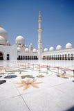 Sheikh Zayed Grande Mesquita Foto de Stock Royalty Free