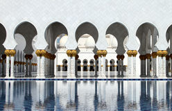 Sheikh Zayed Grande Mesquita Fotos de Stock