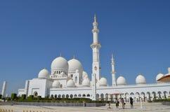 Sheikh Zayed Grande Mesquita Fotografia de Stock Royalty Free