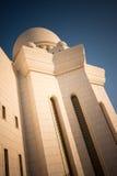 Sheikh Zayed Grande Mesquita Abu Dhabi Fotos de Stock