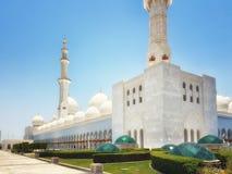 Sheikh Zayed kosza sułtanu Al Nahyan meczet, Abu Dhabi, Zlany arab zdjęcia stock