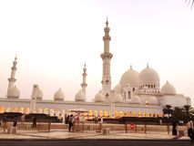 Sheikh Zayed Masjid Foto de Stock Royalty Free