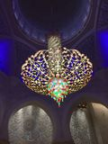 Sheikh Zayed Masjid Lantern Royalty Free Stock Photo