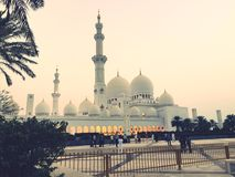 Sheikh Zayed Masjid Royalty Free Stock Photos