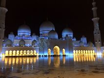 Sheikh Zayed Masjid Stock Photos