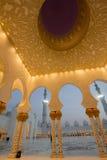 Sheikh Zayed meczet obraz stock